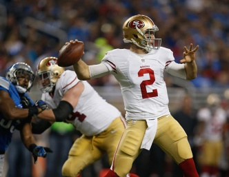 Gabbert Goes Into Final Game With a Positive Outlook