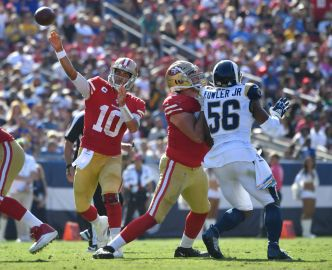 Shanahan's Plan Helps 49ers Cope With Missing Tackles