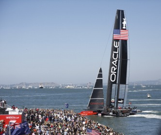 Team Oracle USA Skipper Sends Controversial Tweet