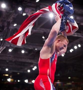 Bakersfield's Varner Wins Wrestling Gold
