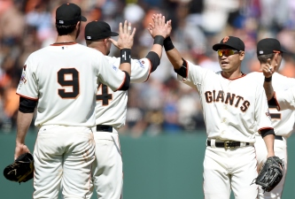 Giants Beat Angels 5-0 Behind Lincecum for 3-game Sweep