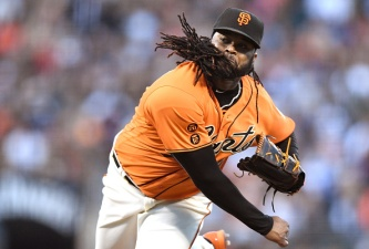 SF Giants Pitcher Cueto to Start 2016 MLB All-Star Game