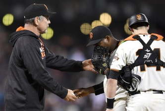 Giants Let One Get Away Against Red Sox