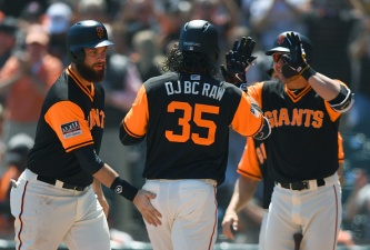 Holland, Giants Stifle Rangers to Win Series