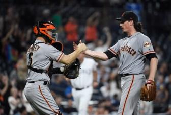Giants' Samardzija Dominates Padres With Shutout