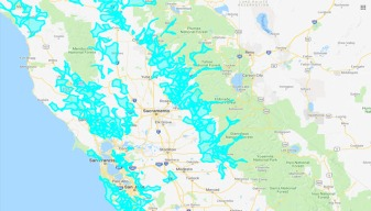 Interactive Map: Areas Affected by PG&E's Power Shutoffs