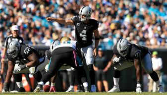 Carr Not Satisfied With Offensive Efficiency Versus Jags