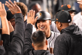 Panik Stuns Another Dodgers Star, Leads Giants to 2-0 Start