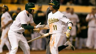 Late Angels Bomb Buries A's in First Loss of 2017