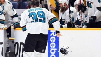 Couture Expected Back in Sharks Lineup 'at Some Point'