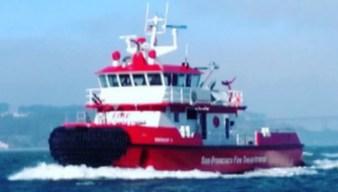 San Francisco Fire Department Unveils New Fireboat