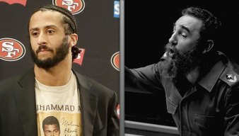 Kaepernick's Castro Shirt Leads to 'Heated' Exchange