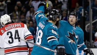 Rewind: Sharks Get the Bounces in Imperfect Win Against Hurricanes