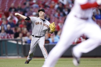 Giants Fall to Reds, 9-2