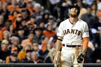 Giants' Pence Suffers Fracture in Forearm, Out 6-8 Weeks