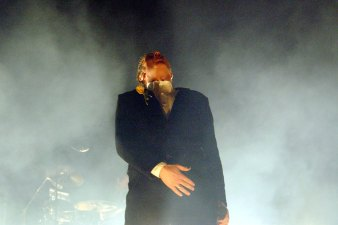 Peter Murphy Performs Bauhaus Classics