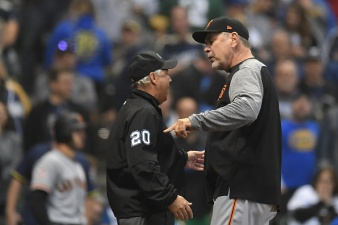 Giants Fall vs. Brewers in Season High Sixth-Straight Loss