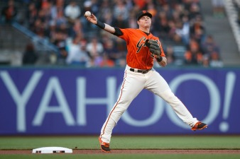 Arroyo's Late-Game Heroics Lift Giants Past Padres