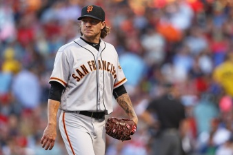 Giants Bats Go Silent in Loss to Red Sox