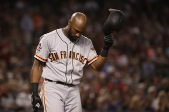 Cueto Throws Gem, But Giants One-Hit by D'backs' Corbin