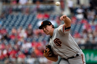 Giants' Holland Outduels Nationals' Scherzer in 2-0 SF Win