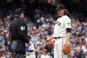 Samardzija Loses No-Hit Bid; Giants Lose Game to Mets