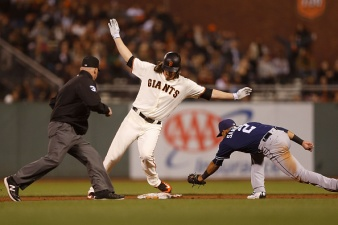 Giants Fall Flat in Shutout Loss to Padres