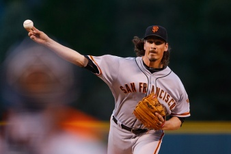 Samardzija, Giants Keep Rockies in Check in 3-2 Win