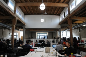 Music Hack Day Installs in SF