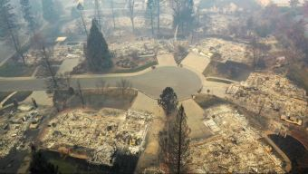 Drone Video: Camp Fire Wipes Out Paradise