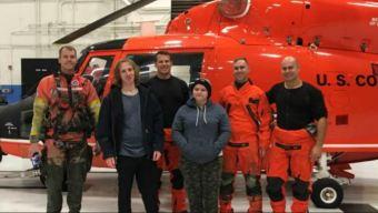 Coast Guard Crews Rescue 2 From Stuck Vessel Near Alviso