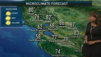 Kari's Forecast: Highs in the 70s Inland
