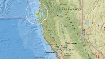 Second M4.6 Earthquake Strikes Off NorCal Coast: USGS