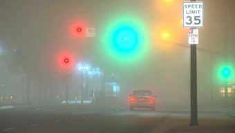Fog Reduces Visibility on Bay Area Bridges