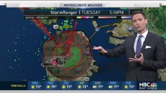 StormRanger Tracks Drizzle & Jeff's Forecast