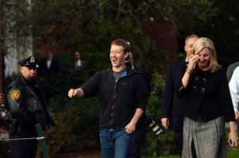 Mark Zuckerberg Stuffs, Hangs His Own Meat