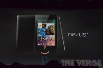 Google Unveils 7-inch Nexus Tablet