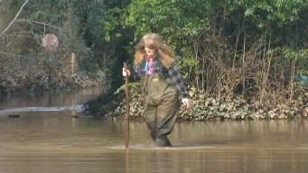 Russian River Flood Levels Drop