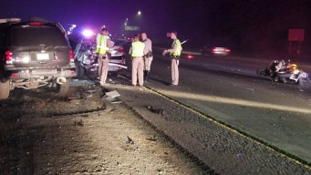 CHP Motorcycle Cop Hurt, Driver Arrested After Hwy. 4 Wreck