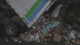 Man Pulled from Trash Heap at San Francisco Recycling Center