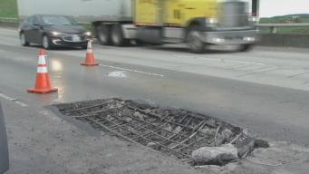 Caltrans Working on Massive Potholes Repairs