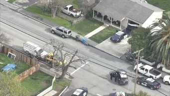 Person Detained After Police Surround Home in San Jose