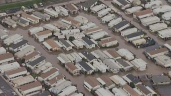 Hundreds Forced to Evacuate Flooded SJ Mobile Home Parks