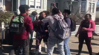 Alameda Students Walk Out of Class to Protest Gun Violence