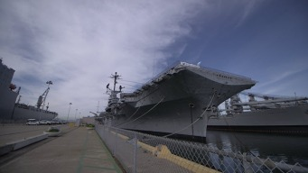 USS Hornet in Need of Repairs