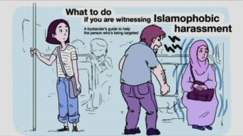 Four Women Help BART Launch Campaign Against Islamophobia