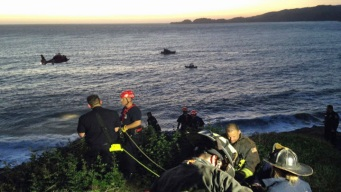 SF Fire Crews Respond to Two People in Water at Baker Beach