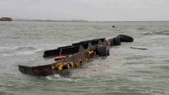 Preparations Underway to Salvage Sunken Barge From SF Bay