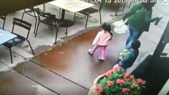 WATCH: Driver Crashes Into Napa Restaurant as Family Exits