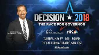 Decision 2018: Race for California Governor on NBC Bay Area